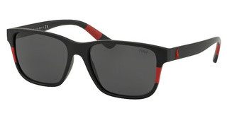 Polo PH4137 528487 GREYMATTE BLACK/RED