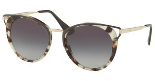 Prada PR 66TS UAO5D1 GREY GRADIENTSPOTTED OPAL BROWN