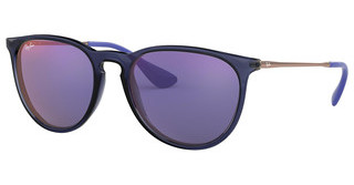 Ray-Ban RB4171 6338D1 DARK VIOLET MIRROR REDTRASPARENT BLUE