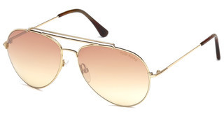 Tom Ford FT0497 28Z verspiegeltrosé-gold glanz