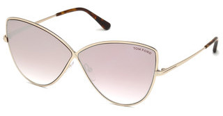 Tom Ford FT0569 28Z verspiegeltrosé-gold glanz