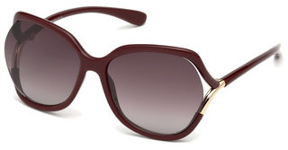 Tom Ford FT0578 69T bordeaux verlaufendbordeaux glanz