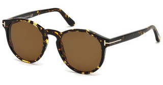 Tom Ford FT0591 52M braun polarisierendhavanna dunkel