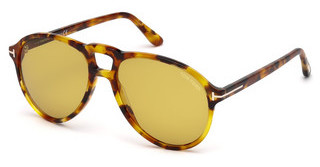 Tom Ford FT0645 55E braunhavanna bunt