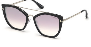 Tom Ford FT0648 01Z verspiegeltschwarz glanz