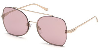 Tom Ford FT0656 28Z verspiegeltrosé