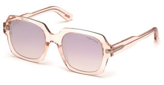 Tom Ford FT0660 72Z violett ver.rosa glanz
