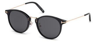 Tom Ford FT0673 01A grauschwarz glanz