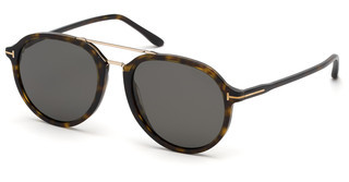Tom Ford FT0674 52D grau polarisierendhavanna dunkel