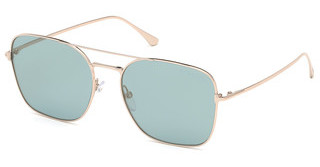 Tom Ford FT0680 28X blau verspiegeltrosé