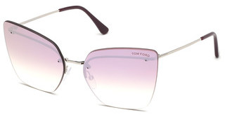 Tom Ford FT0682 16Z verspiegeltpalladium glanz