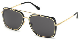 Tom Ford FT0750 01A grauschwarz glanz