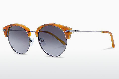 solbrille Kerbholz Carl Amber Orange