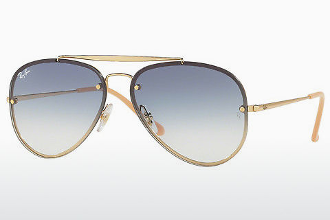 solbrille Ray-Ban BLAZE AVIATOR (RB3584N 001/19)