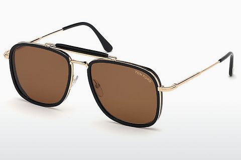 solbrille Tom Ford Huck (FT0665 01E)