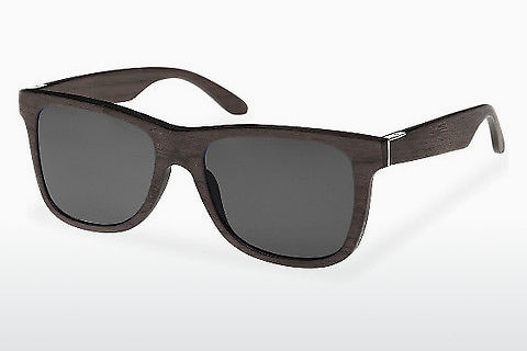 solbrille Wood Fellas Prinzregenten (10755 black oak/grey)