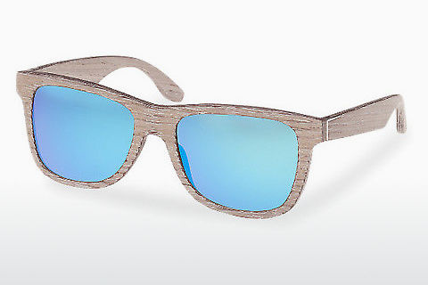 solbrille Wood Fellas Prinzregenten (10755 chalk oak/blue)