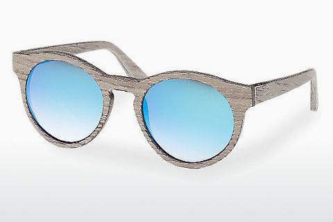solbrille Wood Fellas Au (10756 chalk oak/blue)