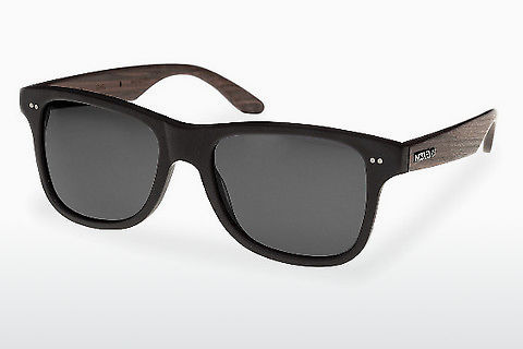 solbrille Wood Fellas Lehel (10757 rosewood/black/grey)