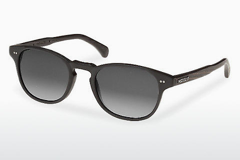 solbrille Wood Fellas Haidhausen (10758 ebony/black/grey)