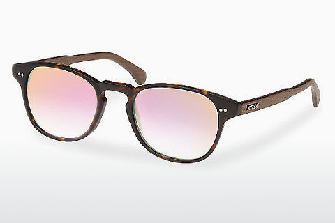 solbrille Wood Fellas Haidhausen (10758 walnut/havana/rose)