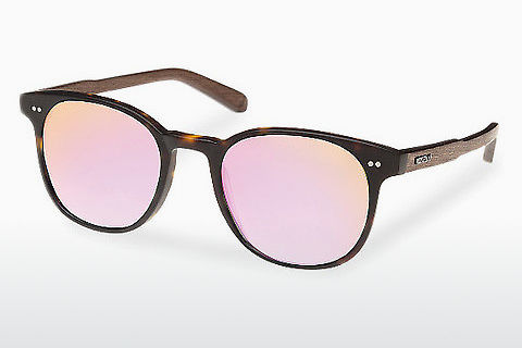 solbrille Wood Fellas Schwabing (10759 walnut/havana/rose)