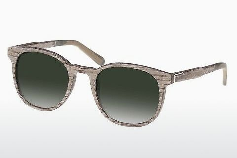 solbrille Wood Fellas Neuhausen (10761 chalk oak/green)