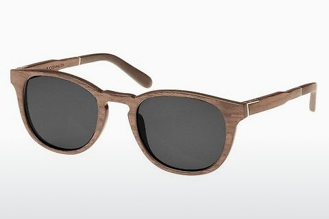 solbrille Wood Fellas Bogenhausen (10762 walnut/grey)