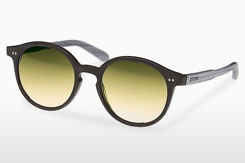 solbrille Wood Fellas Solln (10763 chalk oak/black/gold)
