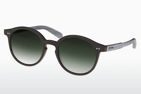 solbrille Wood Fellas Solln (10763 chalk oak/black/green)