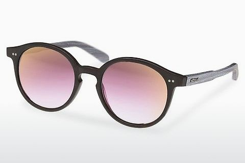 solbrille Wood Fellas Solln (10763 chalk oak/black/rose)