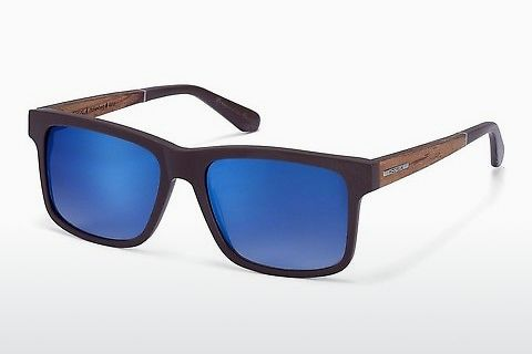 solbrille Wood Fellas Hohenburg (10768 zebrano)
