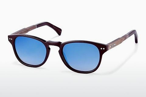 solbrille Wood Fellas Stockenfels (10775 zebrano)