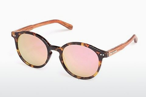 solbrille Wood Fellas Basic Leuchtenberg (10793 zebrano)