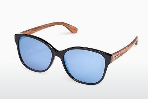 solbrille Wood Fellas Basic Wallerstein (10794 black oak)