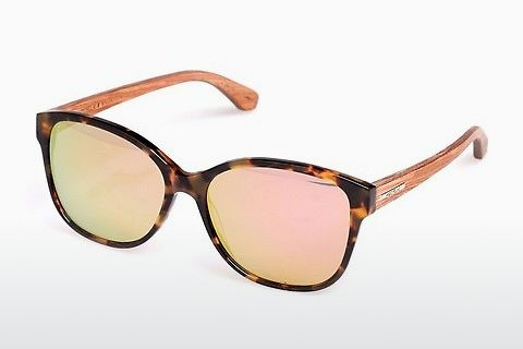 solbrille Wood Fellas Basic Wallerstein (10794 zebrano)
